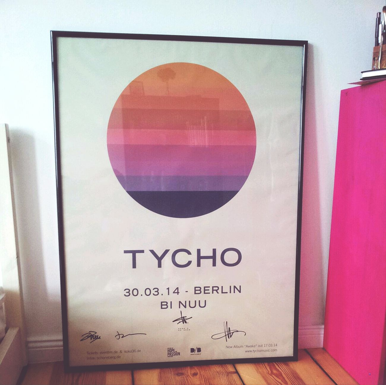 Home Sweet Home Music Poster Tycho My Fuckin Berlin