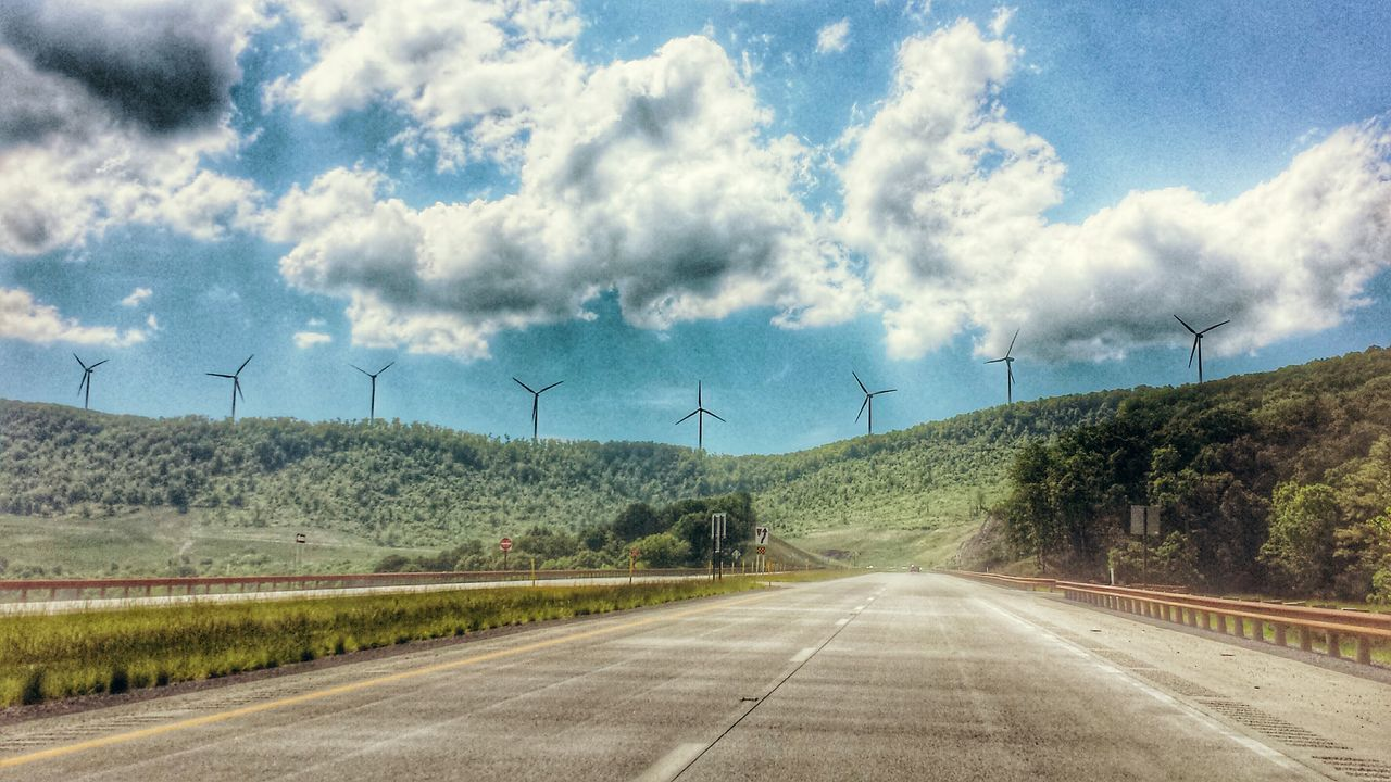 Mt Storm, WV -- windmills Tourist Attraction  Tourist_spot West Virginia Nature_collection Scenery_collection Mountain_collection Road Trip Everyday Is A Winding Road Take Me Home, Country Roads