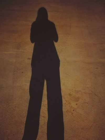 Shadow Alone In The Dark Space Empty Lost Down Strenght Hopeless Vertical One Person People Weapon Person Adult Girlz Girls On Fire