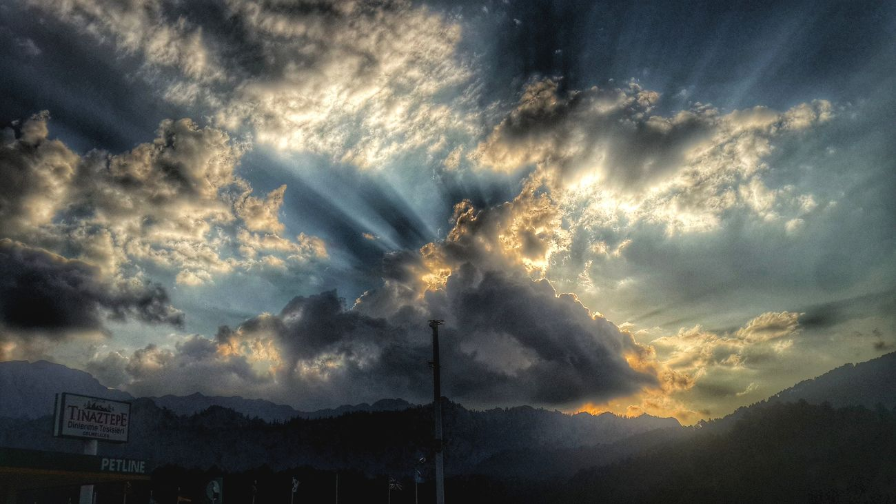 Sunset #sun #clouds #skylovers #sky #nature #beautifulinnature #naturalbeauty #photography #landscape Nature_collection Sun_collection, Sky_collection, Cloudporn, Skyporn Cloud And Sky Sky_collection