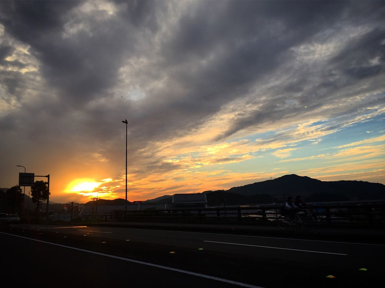四万十 ソラ 空 夕陽 Shimanto Shimanto River Sunset Sunset Sky Cloud - Sky Japan Kochi 四万十川 日本 高知