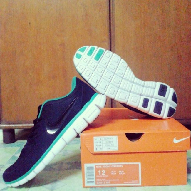 Welcome to the jogger's club my baby!! :* Nikefree5 .0 Rubbershoes Pleasure /want Stressreliever