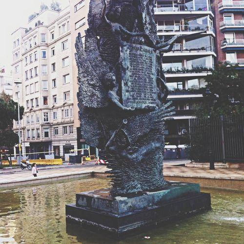 Statue in Barcelona
