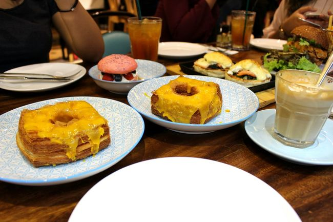 People Together Dine In Girls Salted Egg Cronuts Berry Pavlova TTDI Malaysia