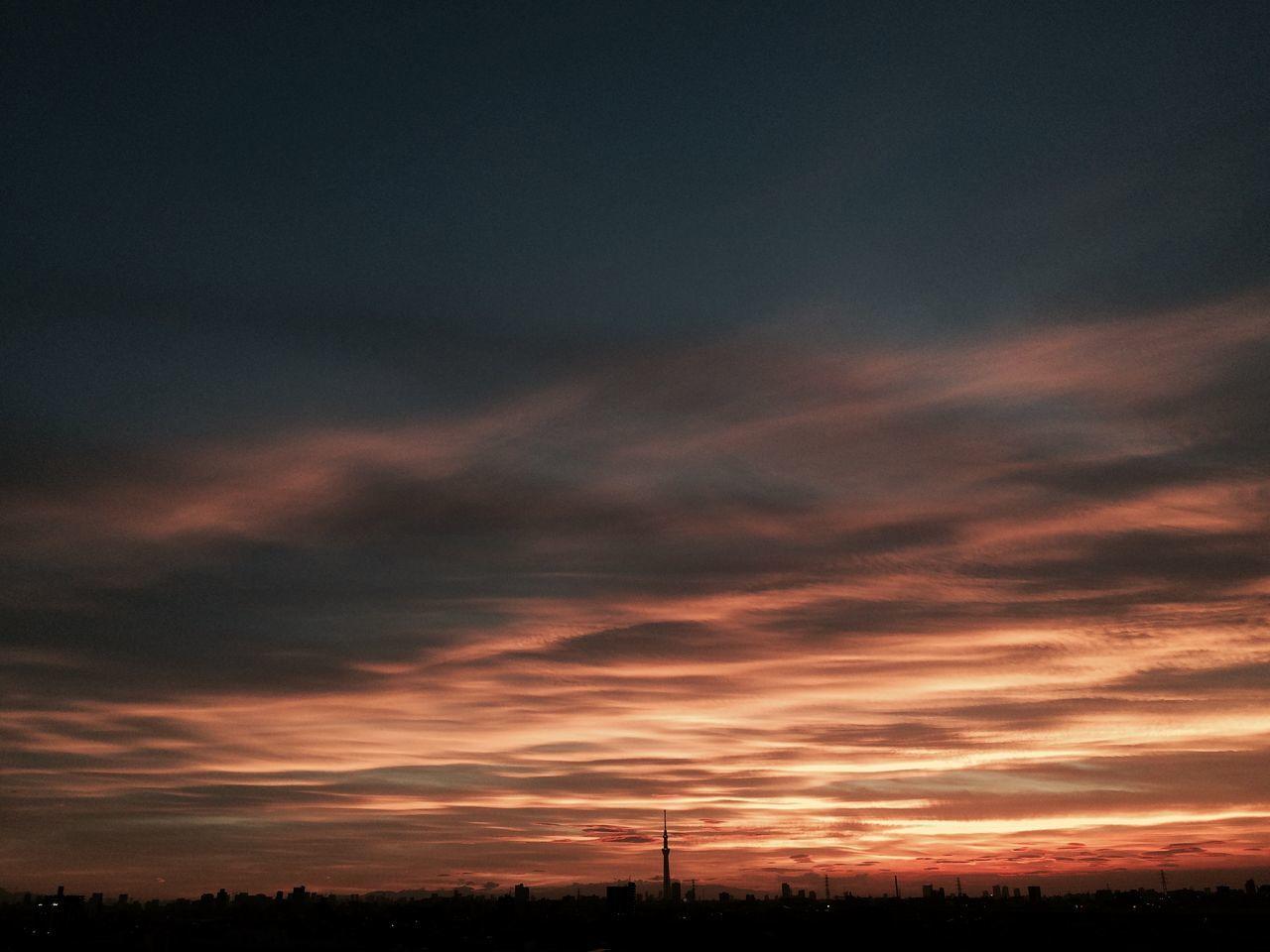 今週もがんばろー Hello World Hanging Out Enjoying Life Clouds And Sky Sun Set
