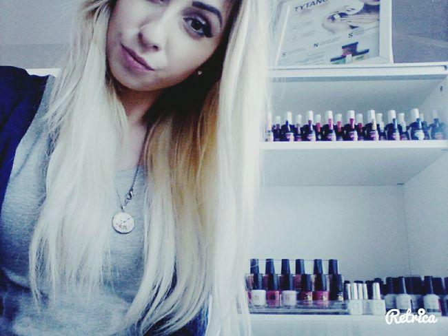 Hi! Work Beng Beng Nails <3 Polishgirl Long Hair, Don't Care.