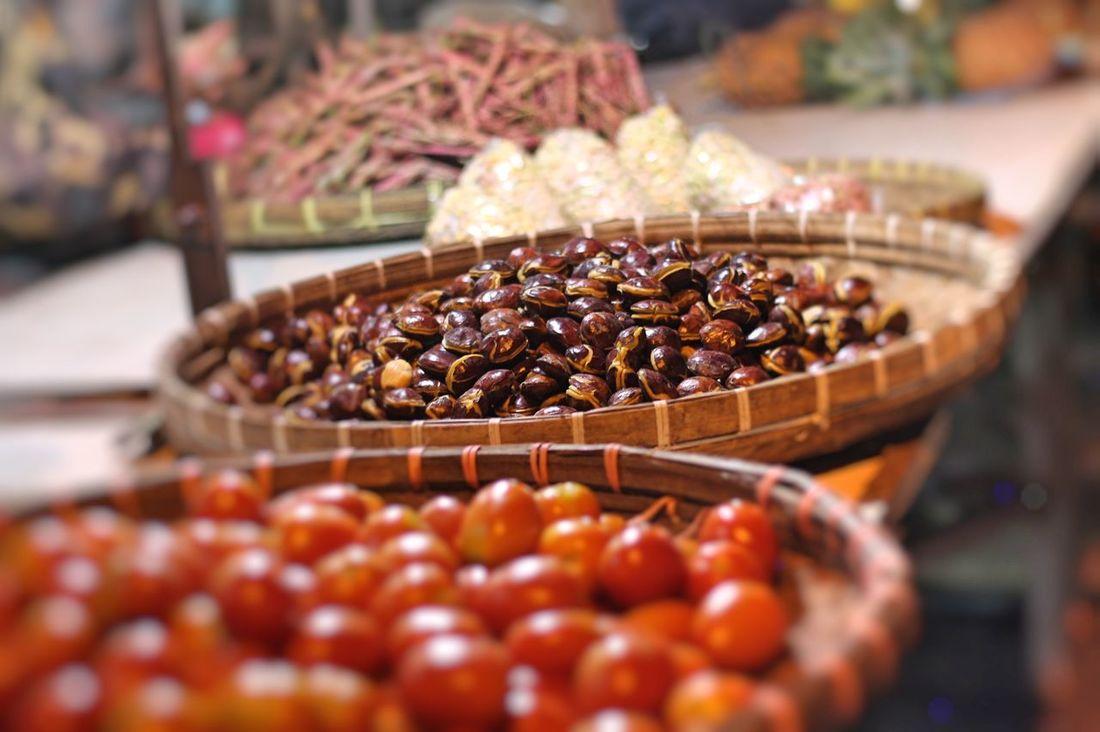 Market Traditional Market Bamboo - Material Jengkol Tomatoes Close Up Indonesian Market Indonesian Traditional Market EyeEm Selects EyeEm