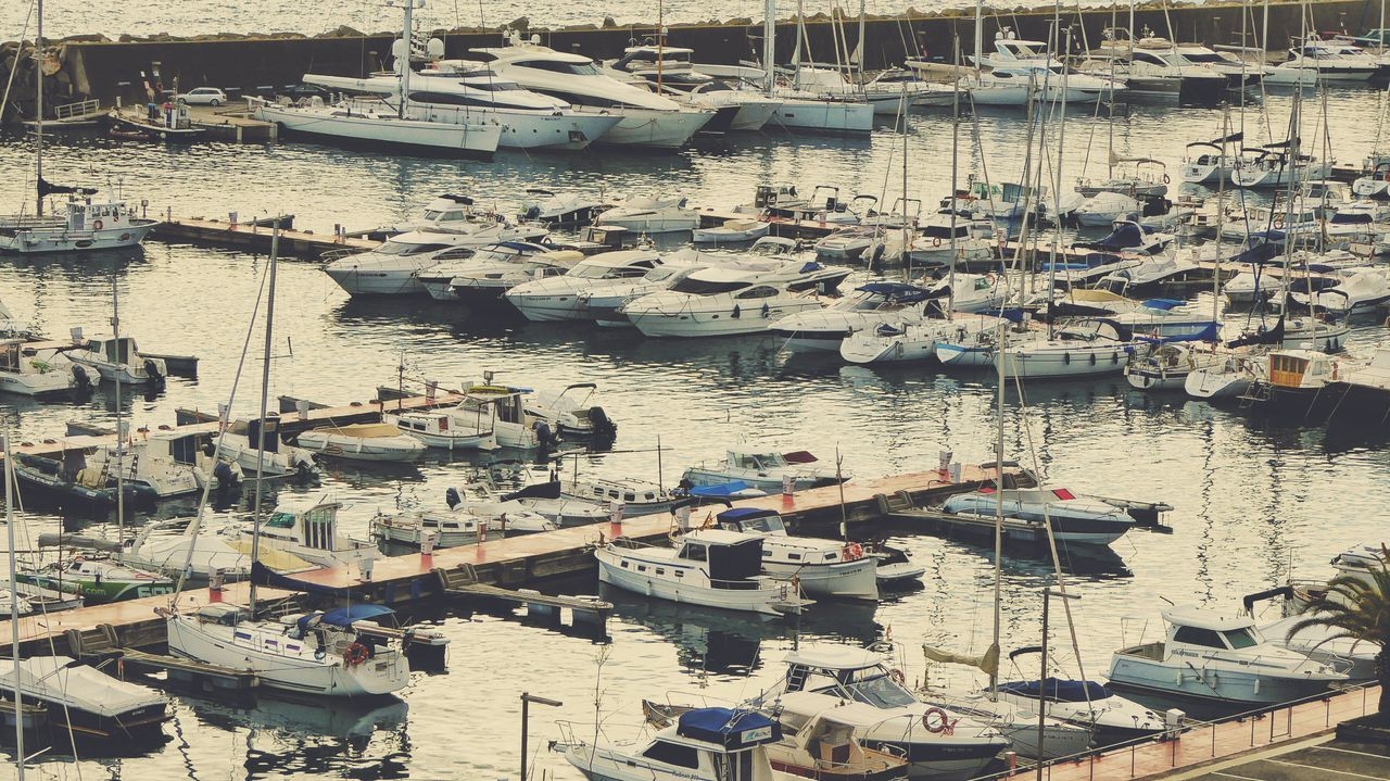 Yahts In The Harbor Sailboat Nautical Vessel Backgrounds Water Catalunyaexperience Beach Photography Seascape Photography Boats⛵️ Watersurface