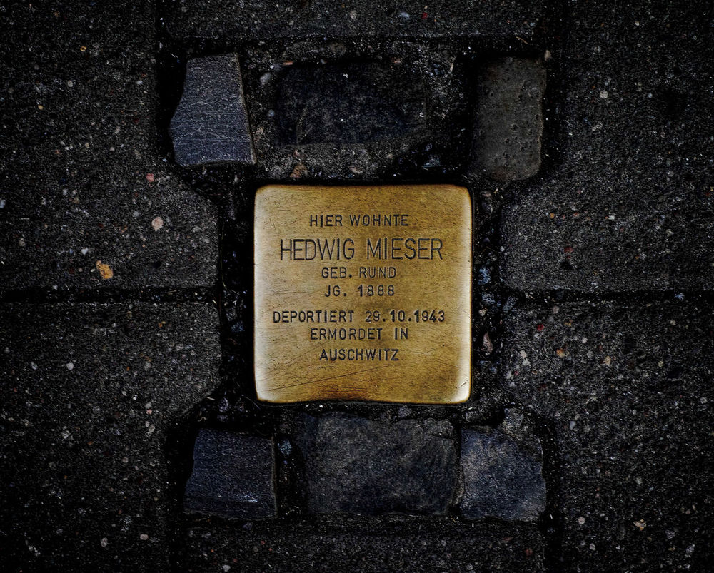 Don´t forget Communication Day Holocaustmemorialday No People Outdoors Stolperstein Stolpersteine Text Weremember