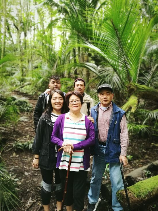 Hunt for the wilderwongs Happiness People Beauty In Nature Smiling Togetherness Nature Outdoors Real People Portrait NewPlymouth NewYear2017 New Zealand Family Portrait Family Family Matters