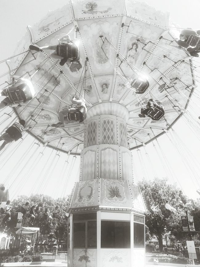 Let's Swing Swinging Black & White Photography