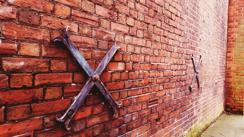 Wall Brick Wall Pattern Built Structure Architecture Outdoors Stones Redbricks Backgrounds No People Close-up Buckland