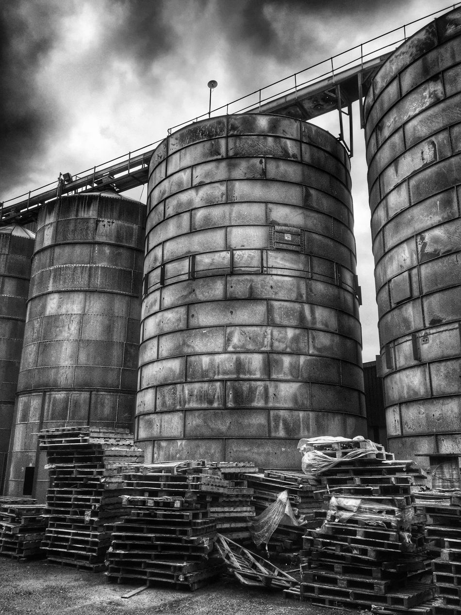Blackandwhite Black And White Black & White Black And White Photography Silos Old Austere