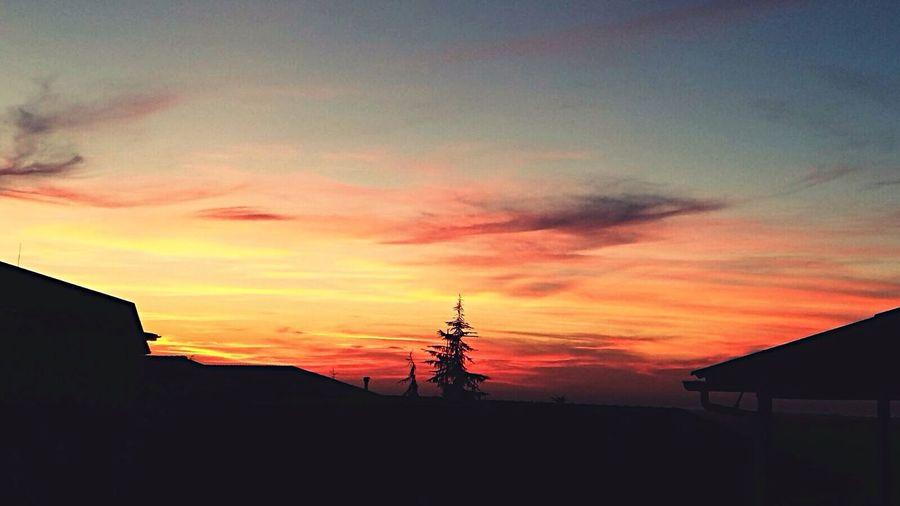 Enjoying Life Sunset Sunset_collection sunset #sun #clouds #skylovers #sky #nature #beautifulinnature #naturalbeauty #photography #landscape