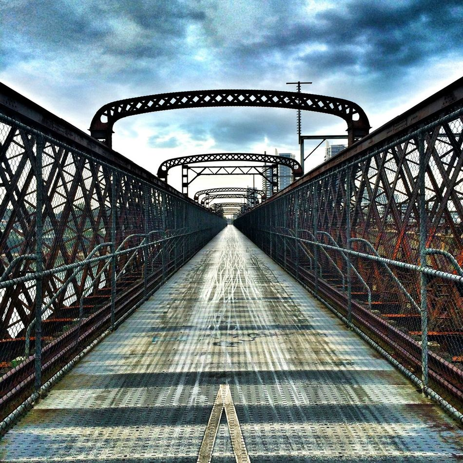 Bridge Rail Steel Cityscapes