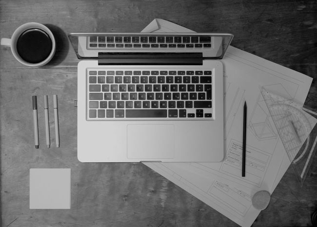 Coffee Communication Desks From Above Detail Information Notebook Things Organized Neatly Still Life Studio Shot Technology Work Working Showcase: November Everything In Its Place Q Qualitätsarbeit Canon EOS 700D EF 35mm f2