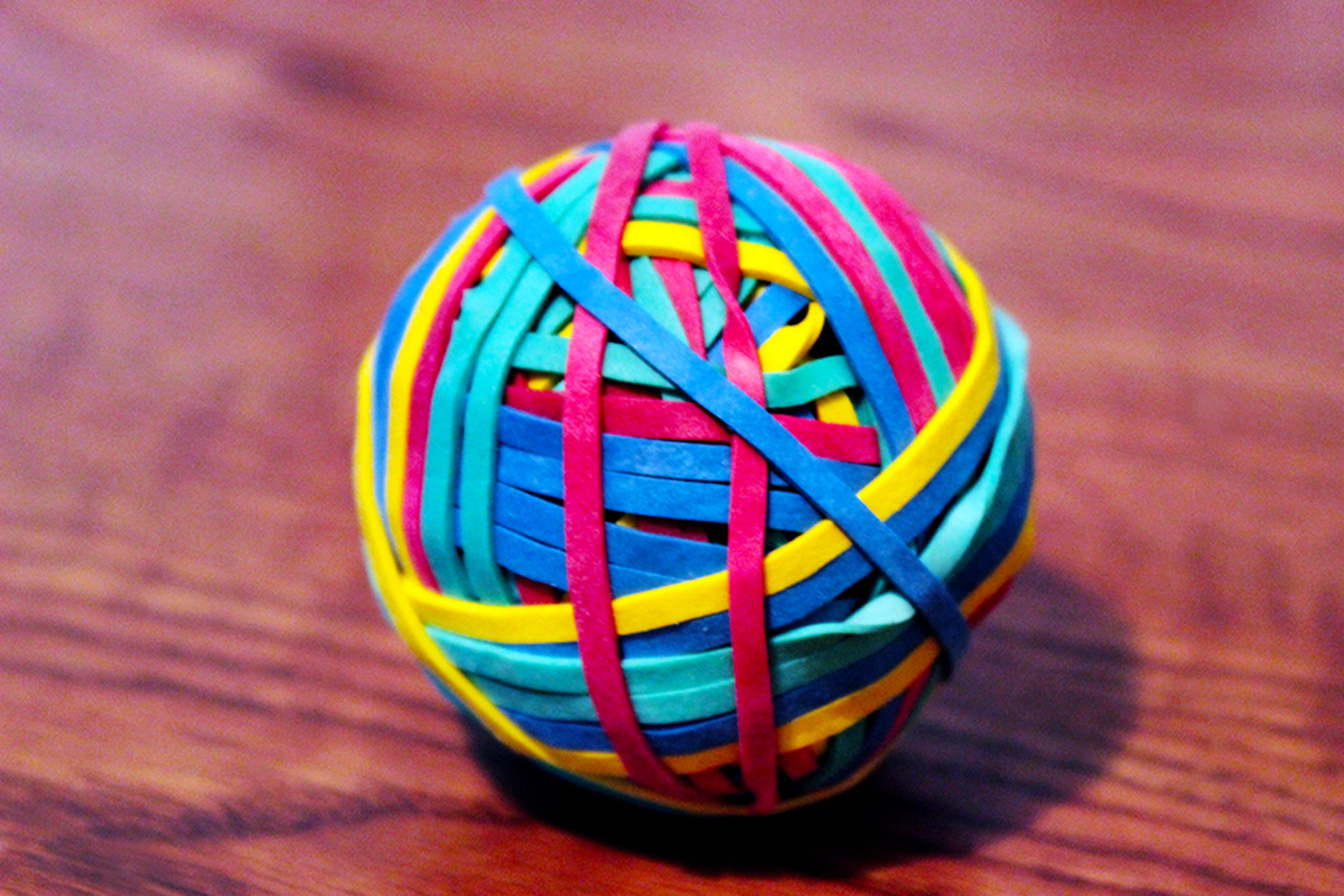 Colors KimberlyElle Photography Rubberband Ball