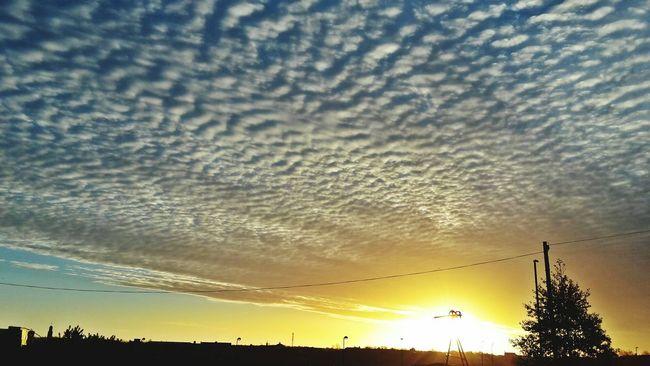 Morning Sky Clouds Beautiful Sky Calming Ripple Effect