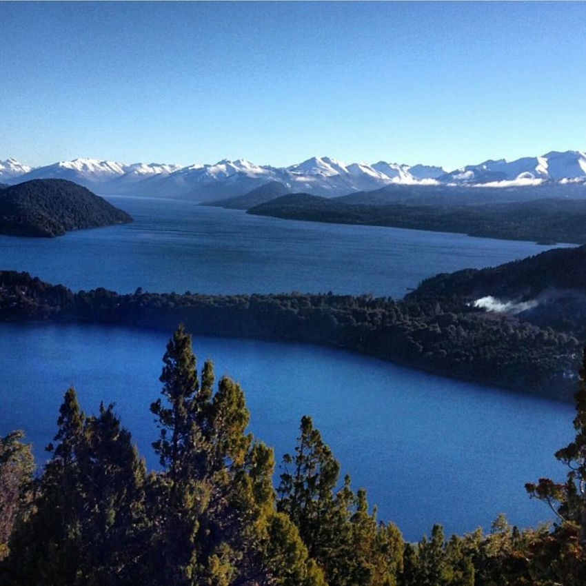 Lake NahuelHuapi Bariloche Bariloche, Argentina AmericaDoSul Sightseeing Best View Of The World Check This Out
