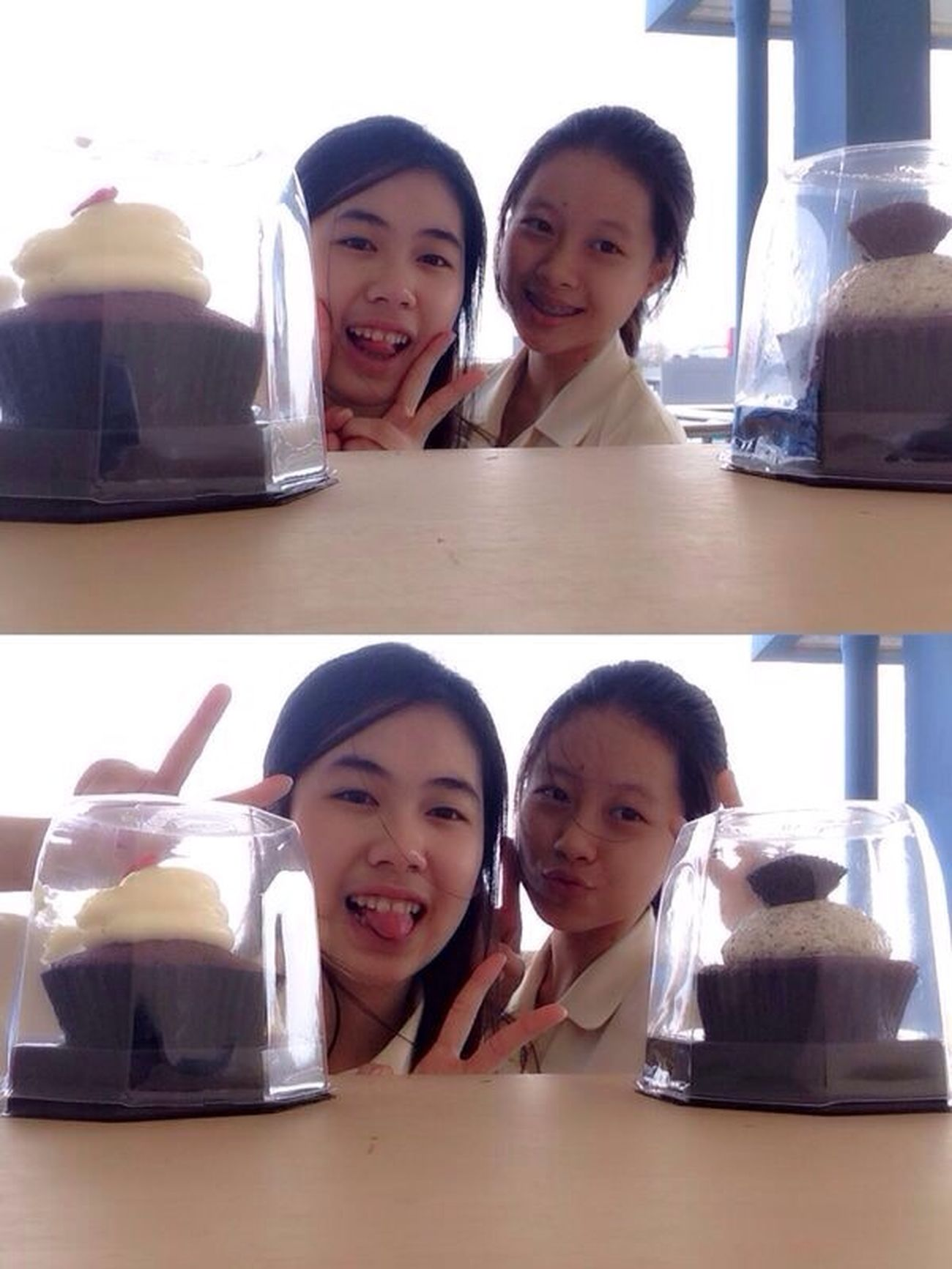 Cupcake Selfies School RedvelvetOreo