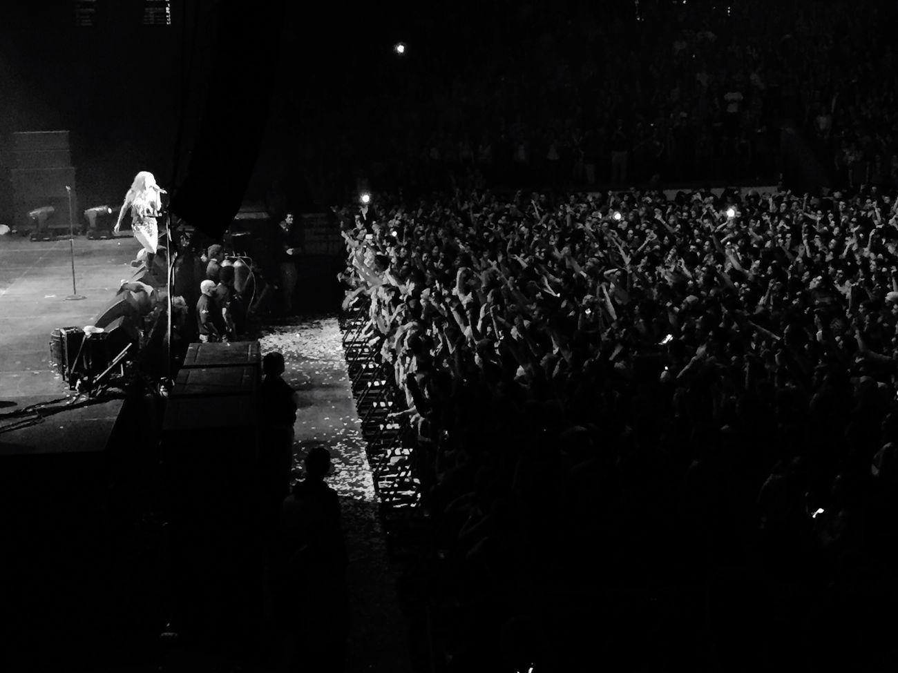 Live a little.💚👯👅💀😽 Umass Amherst Kesha Ludacris JuicyJ Concert
