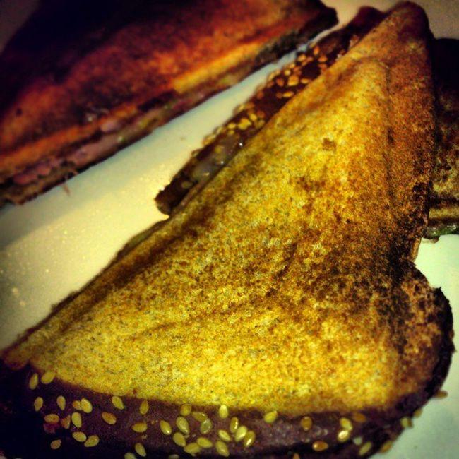 ToastedSandwiches for Breakfast jaja delicious