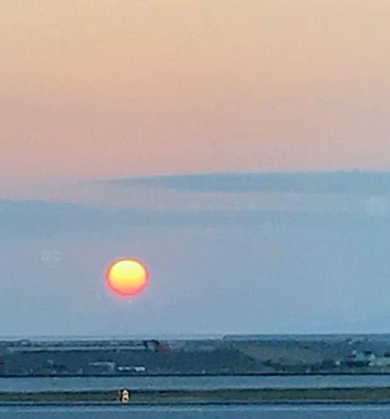 Sunset Horizon Over Water Beauty In Nature Nature Colour Your Horizn Scenics Sky Sun