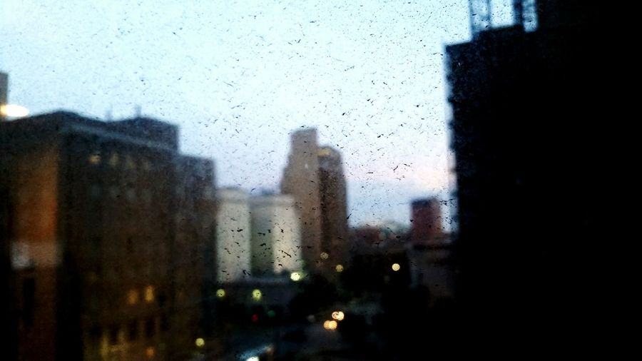 Film of a city.