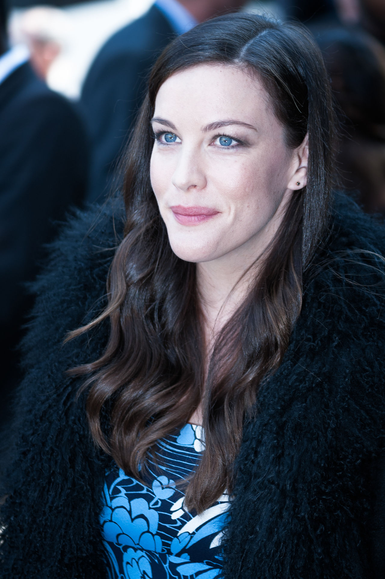 liv tyler in fasion week in paris Actor Actrees Actress American American Girl Beatiful Girl Beauty Blue Eyes Brunette Liv Tyler White Face