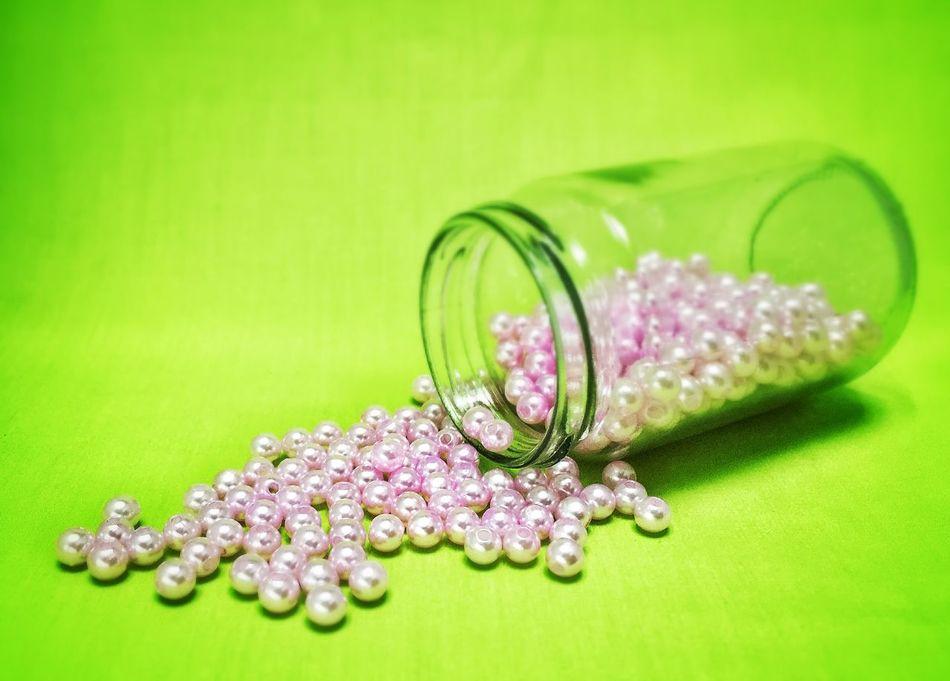 Beautiful stock photos of glass, Abundance, Bead, Close-up, Colored Background