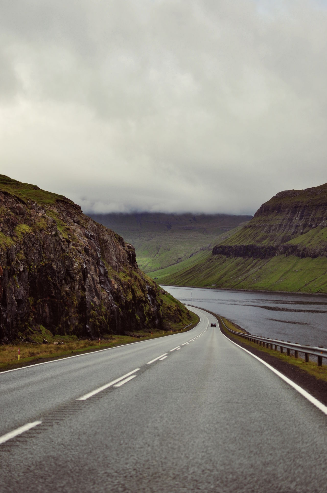 Beauty In Nature Empty Road Landscape Mountain Mountain Range Mountain Road Nature Road The Way Forward Tourism Water