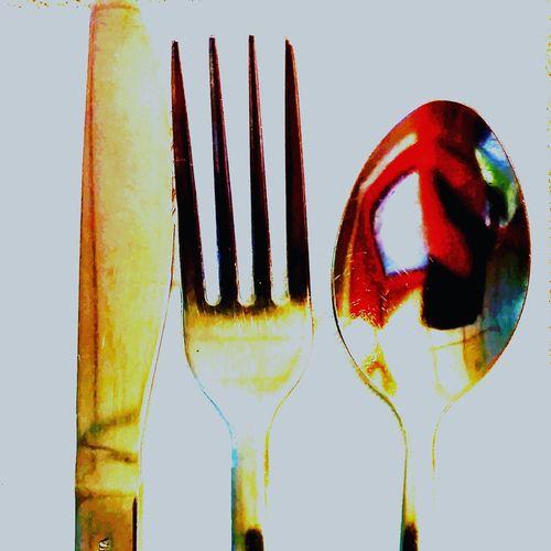 Breakfast Silverware  Shiny Morning Diner