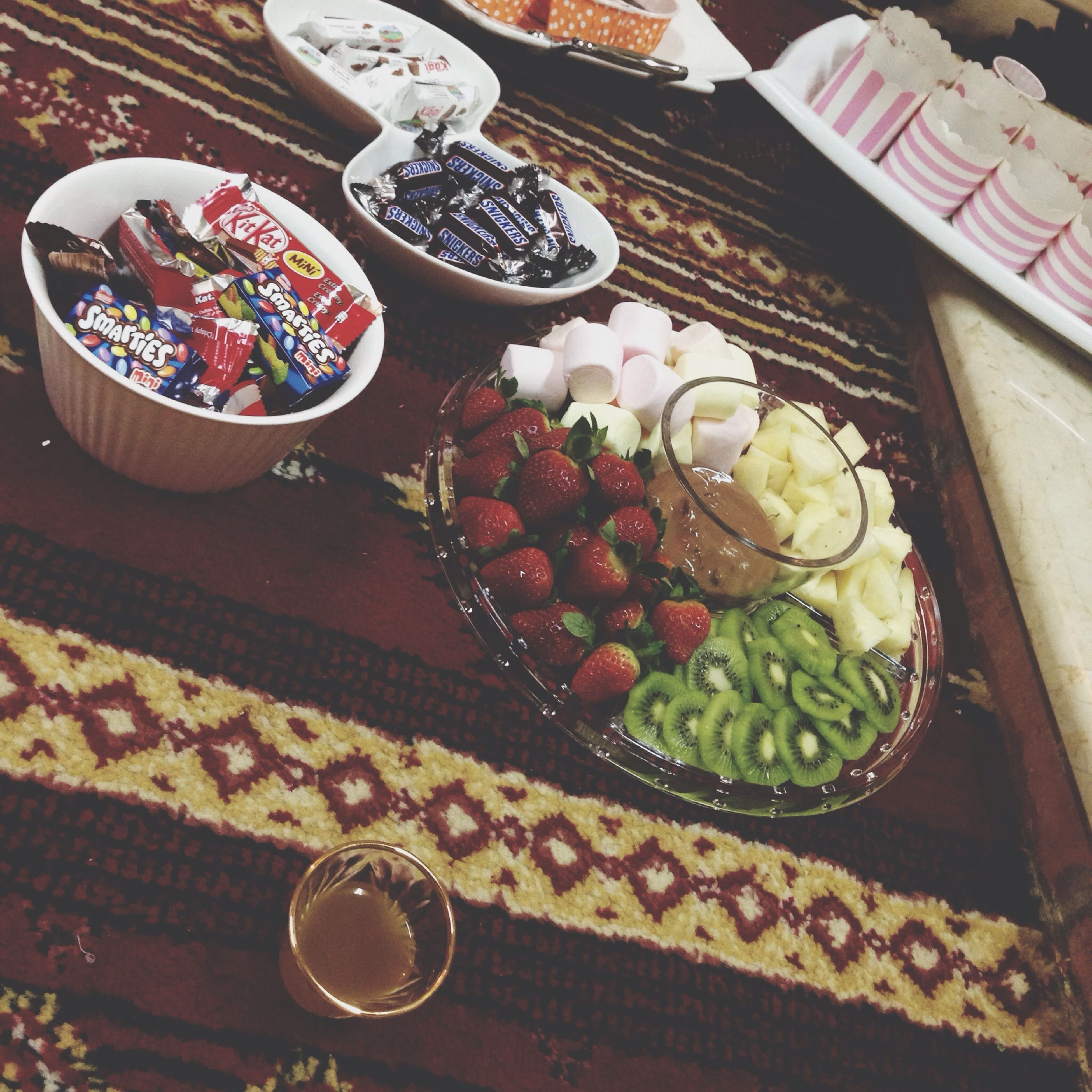 food and drink, food, indoors, freshness, table, still life, high angle view, variation, healthy eating, bowl, plate, fruit, ready-to-eat, choice, close-up, no people, large group of objects, indulgence, abundance, sweet food