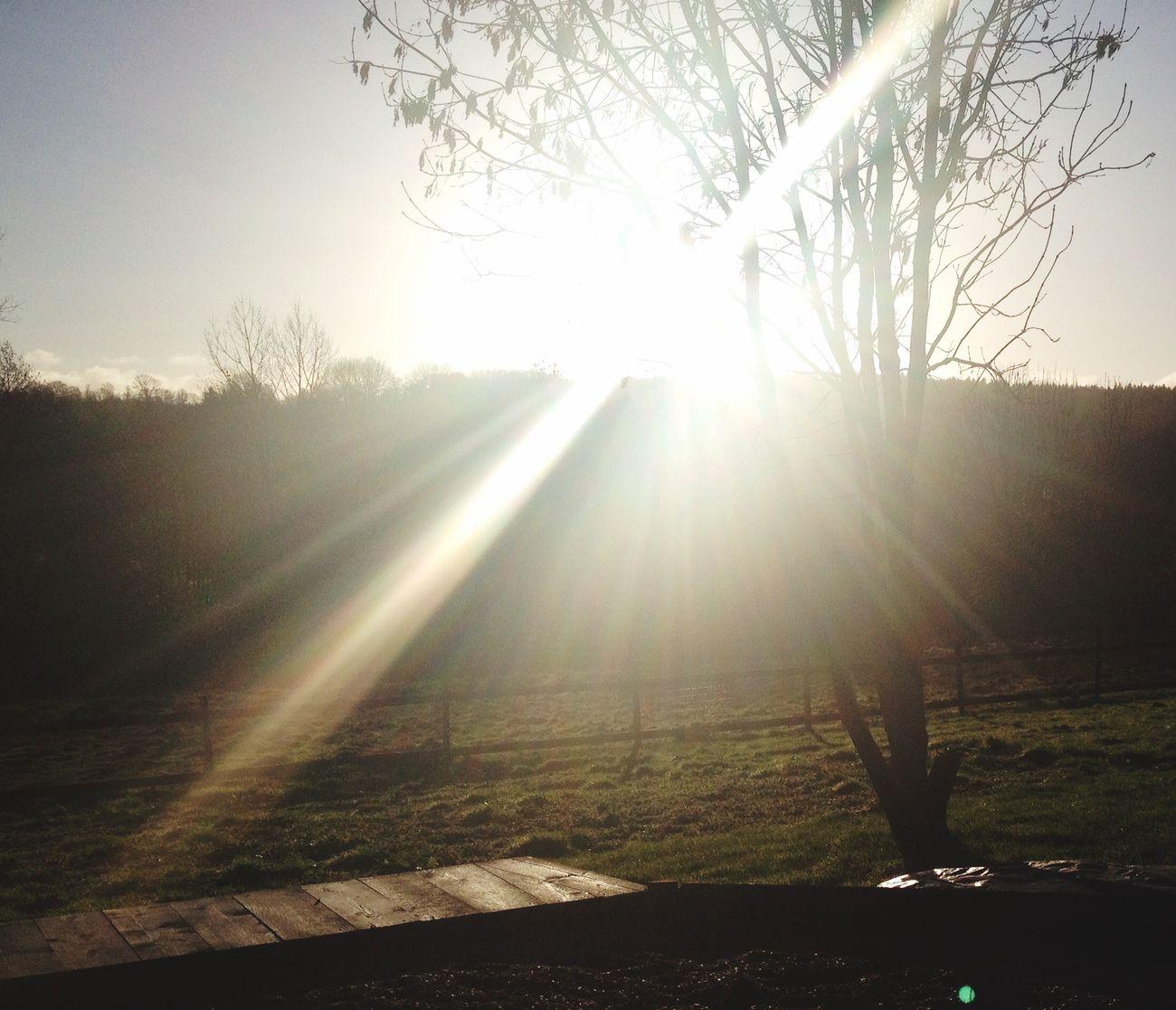 Lever du soleil un dimanche Magnifique #Photo !
