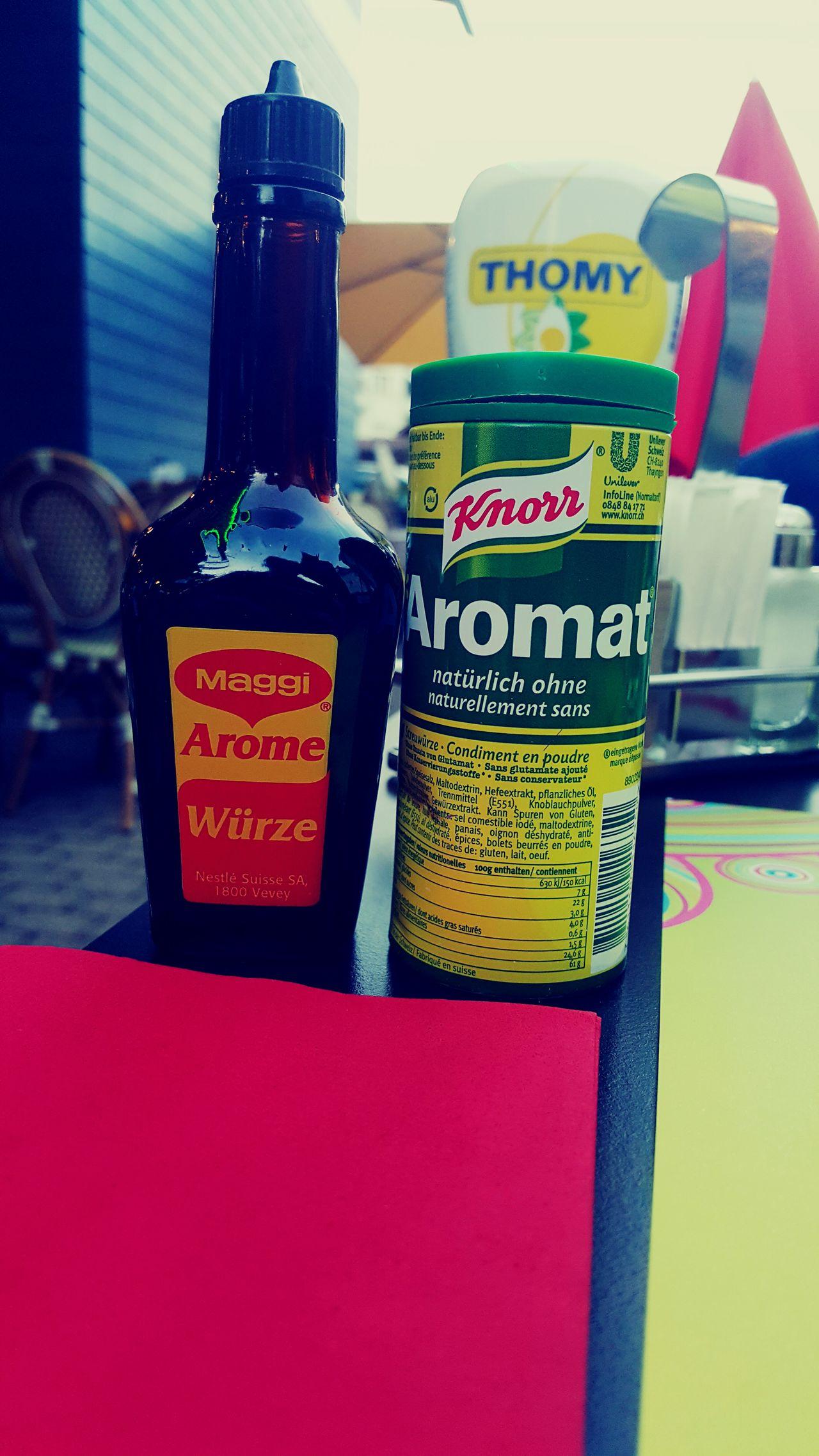 Aromat Maggi Knorr Vintage Sauce Thomy Oldschool Swiss Food Branding