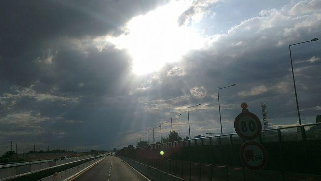 Autostrada A4 Milano-Torino Novara Born To Be Wild On The Road On My Truck Landscape Autostrada Divieto Di Sorpasso Fotoitaliane Italy