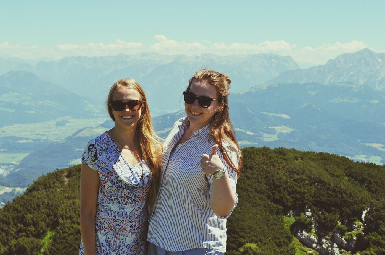 Wien, Austria Two People Photography Themes Communication Smart Phone Selfie Portrait Women Outdoors People Beginnings Vacations