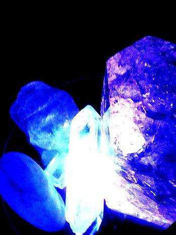 Healing Crystals Sacredheart Starseed Nature Blue Studio Shot Black Background Purple Close-up No People Dark Blue Sacred Bee