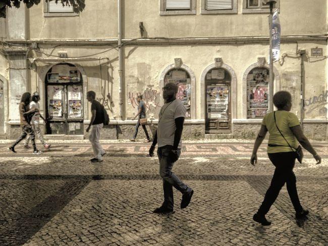 Distâncias   Distances Streetphotography Passerby Candid Intervals