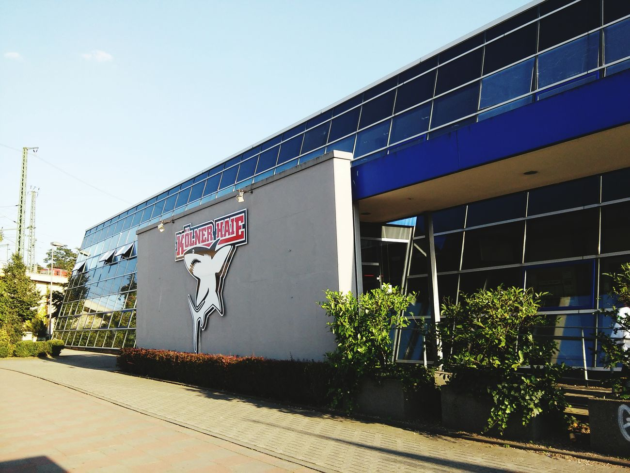 Nach dem Training ist vor dem Spiel KEC Kölner Haie Training Köln Cologne Eishockey