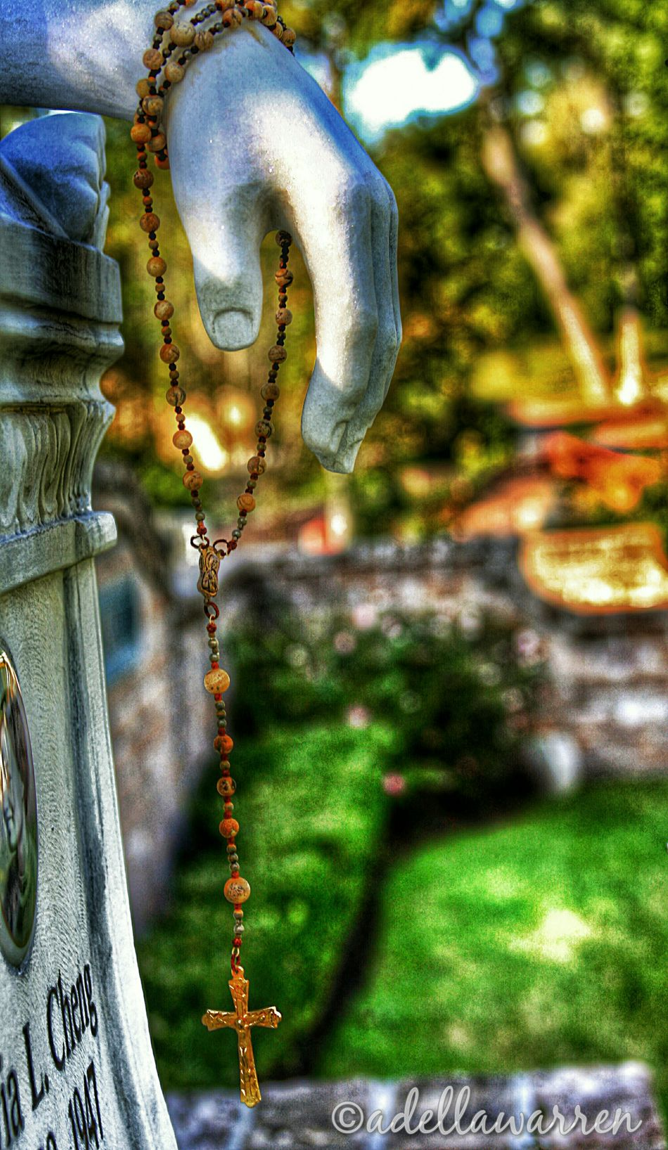Rosary Graveyard Collection Graveyard Beauty Cemetery Photography