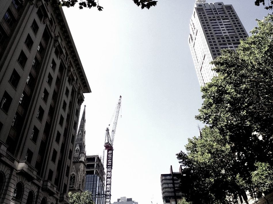 Collins Street Htc8x Cityscapes Look Up