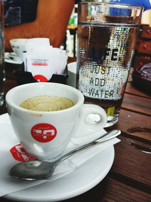 Cofee Time Morning Rituals Wake Me Up!!! Life just add water Tirana Albania Urban Lifestyle