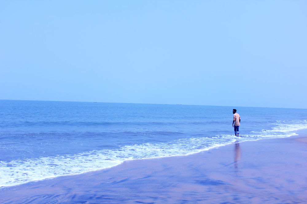 Just Wow Beach Sea Horizon Over Water One Person Water Day Travel Destinations