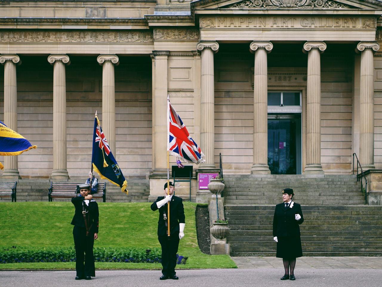 Beautiful stock photos of veteran's day, flag, patriotism, senior women, city