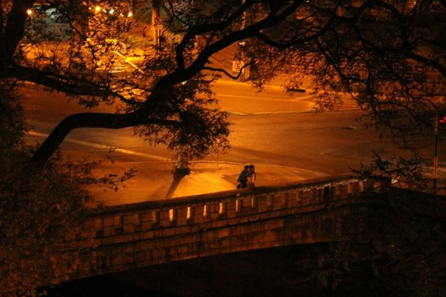 Family Mom Little Boy From The Window Real People Cordobaargentina Canada Night