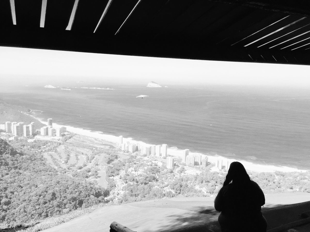 Pedra Bonita Landscape , Learn & Shoot: Balancing Elements , Ocean and City , Human and Nature , Enjoying The View , Black & White The Portraitist - 2016 EyeEm Awards My Year My View
