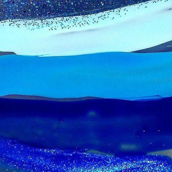5 shades of blue Nailpolish Blues Blue Ilovecolor Nailart  Huế Hues Shades Colors 5 Abstract Onpaper