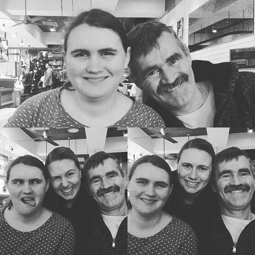Family love! Happyfathersday Love Family Ribsandburgers