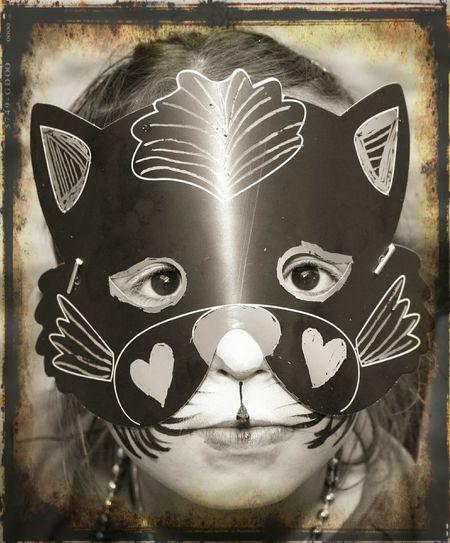 Close-up Masks Arts And Crafts Childhood Children's Portraits Childs Play Childhooddays Masked Eyes